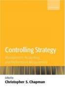 Controlling Strategy: Management, Accounting, And Performance Measurement артикул 12771d.