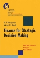 Finance for Strategic Decision-Making : What Non-Financial Managers Need to Know (J-B-UMBS Series) артикул 12889d.