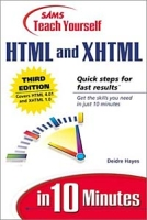 Sams Teach Yourself HTML and XHTML in 10 Minutes (3rd Edition) артикул 12657d.