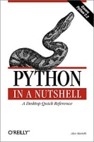 Python in a Nutshell артикул 12677d.