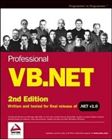 Professional VB NET, Second Edition артикул 12841d.
