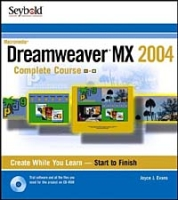Dreamweaver MX 2004 Complete Course артикул 12870d.